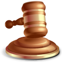 Gavel-Law-icon