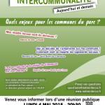 Invitation Réunion du 4 Mai 2015 sur l'intercommunalité